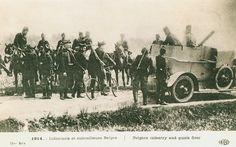 Carte Postale Postcard 1914-1918 1914 Infanterie et mitrailleuse Belges Belgian infantry and machine-gun   Flickr - Photo Sharing!