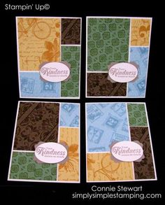 Masculine Panel Cards