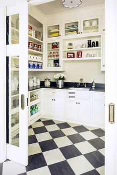 Start somewhere: http://www.stylemepretty.com/living/2014/08/01/15-ways-to-organize-your-pantry/