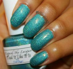 Liquid Sky Lacquer Teal It Like It Is♥. Swatch by Vilicious2.