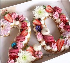 Monogram cookies - by Adi Klinghofer on Instagram