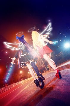 Panty Stocking with Garterbelt by Sakina666.deviantart.com on @deviantART