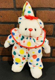 Cute Clown, Creepy Cute, Character Inspiration, Character Design, Clowning Around, Kawaii Plush, Cute Stuffed Animals, Animes Wallpapers, Plushies