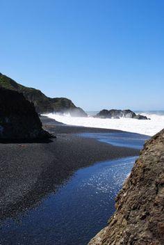 Black Sands Beach, Lost Coast