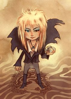 This is fantastic! The Goblin King. $7.00, via the Gorgonist - Etsy.