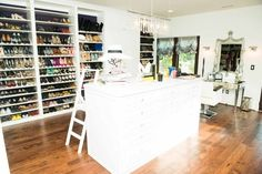 A Dedicated Shoe Closet | 27 Things That Definitely Belong In Your Dream Home