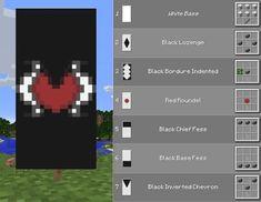 Minecraft Banner Patterns, Cool Minecraft Banners, Minecraft Room, Minecraft Plans, Minecraft Decorations, Amazing Minecraft, Minecraft Games, Minecraft Tutorial, Minecraft Blueprints