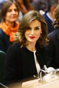 Queen Letizia attends the International Symposium: Sustainable Food Systems In Favor Of Healthy Diets And The Improvements O Nutrition at FAO in Rome, Italy