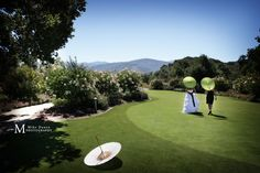 Outdoor wedding at Holman Ranch in Carmel Valley