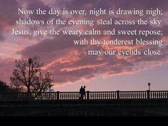Prayer for nighttime..