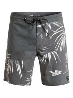 QUIKSILVER™ Mens Rigby Volley Boardshort - Swim shorts for men. Features include: nylon oxford fabric, outseam above-the-knee length, back patch pocket, side pockets, no liner brief inside and . Korean Fashion Men, Korean Men, Mens Fashion, Fashion Goth, Men's Swimsuits, Men's Swimwear, Steampunk Men, Cocktail Attire, Mens Boardshorts