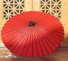 """Aliexpress.com : Buy 48"""" Quality Chinese Oiled Paper Parasol Black/Red Craft Waterproof Umbrella COS Play Decoration from Reliable parasol decoration suppliers on Singin' In The Rain 