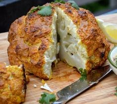 Spicy Whole Roasted Cauliflower Recipe Whole Roasted Cauliflower, Cauliflower Recipes, Bariatric Recipes, Paleo Recipes, Paleo Chili, Recipe Details, Summer Recipes, Side Dishes, Spicy