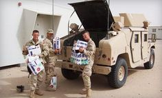 Funds raised for Packages from Home helped in providing 62 hand-packed care packages for troops overseas.