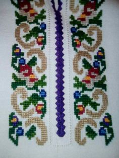 Balochi Dress, Palestinian Embroidery, Cross Stitch Kitchen, Diy Crafts Hacks, Cross Stitch Flowers, Loom Beading, Embroidery Patterns, Kids Rugs, Crochet