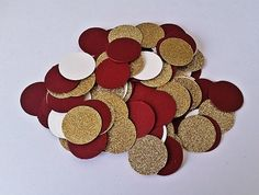 sale Wine & Gold Confetti, wine and Glitter Gold Wedding Decor, Maroon and Gold Wedding, Table confetti, wedding confetti, party confetti by EverydayDesignEvents on Etsy https://www.etsy.com/listing/233728619/sale-wine-gold-confetti-wine-and-glitter