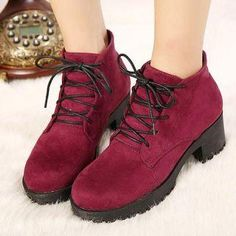 Buy 'Mancienne – Lace-Up Platform Chunky-Heel Ankle Boots' with Free International Shipping at YesStyle.com. Browse and shop for thousands of Asian fashion items from China and more!