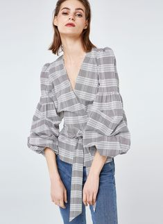 Uterqüe Sweden Product Page - New in - View all - Checked shirt - 950