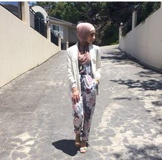 Hijab jumpsuit outfit