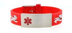 "Children's ""All Paws on Deck"" Medical ID Bracelet"