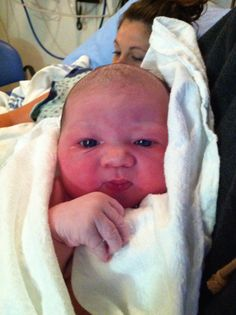 Ayla: newest 'sister' born during the 2014 NFL Draft (Liz Panucci's granddaughter)