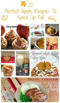 It is apple picking time! This Fall we needed some new apple recipes to spice up Fall up a bit! Apples are perfect for making breakfast treats and snacks.