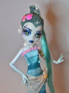 "My new ooak Monster High ""Nepturnia"" by nickisrock, via Flickr"