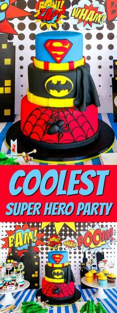 COOLEST Super Hero Party Ideas!