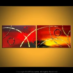 """ONE, TWO AND TWO HALVES - Abstract Art, Inspirational, Expressionism""  !... When Art Goes To Space...Our Brothers Aliens Should Like This !... http//samissomar.wix.com/soundscapings"