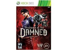 Shadows of the Damned Xbox 360 Game EA- Just got this game today and loving it. Great shooter game with lots of surprises. The storyline is typical for a venture into hell type of game, but easily overlooked by the awesome graphics and action involved. Just exited the Cannibal Carnival- I'll keep you posted as I go!