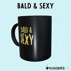 Chemo care package coffee mug Bald Chemo Care Package, Bald Women, Bald Heads, Husband Love, Coffee Humor, Funny Mugs, Ceramic Mugs, As You Like, Really Funny