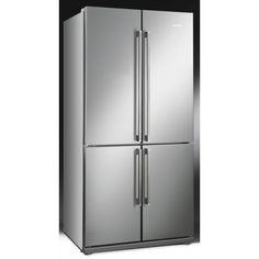 Smeg American Style Four Door Fridge Freezer FQ60XP