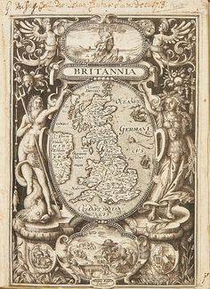 CAMDEN. BRITANNIA, 1600 (1 VOL.)