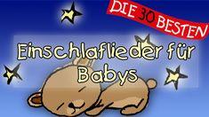 Einschlaflieder für Babys - 15 Lieder am Stück    Kinderlieder Disney Junior, Baby Lullabies, Sleep Dream, Baby Music, Baby Sleep, Bedtime, Music Videos, Kindergarten, Lyrics