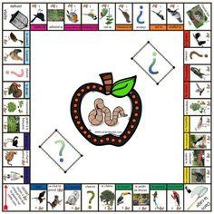 Voici mon nouveau jeu. C'est un monopoly sur le thème des oiseaux. Les cases sont classées par catégories d'oiseaux : les moins chers sont ceux qui ne volent pas, les plus chers sont les rapaces. Les gares sont remplacées par des arbres, la prison par...