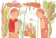 titolo Baci, con le illustrazioni di Goele Dewanckel, è edito da Orecchio Acerbo