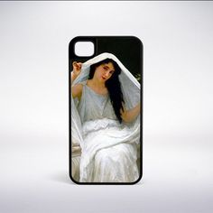 William-Adolphe Bouguereau - The Veil Phone Case