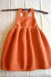 Ravelry: Pinafore Dress pattern by Debbie Bliss