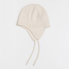 Kaszmirowa czapka w kolorze ecru - Kolekcja - New Born | Zara Home Polska