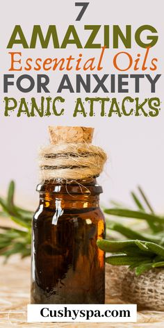 7 Amazing Essential Oil for Anxiety and Panic Attacks Aromatherapy has the ability to relieve stress and help with panic attacks. Try these essential oils for panic attacks and reduce stress on a daily basis. Essential Oils For Anxiety, Essential Oil Uses, Doterra Essential Oils, Young Living Essential Oils, Essential Oils For Relaxing, Essential Oils Depression, Ingesting Essential Oils, Aromatherapy Recipes, Aromatherapy Oils