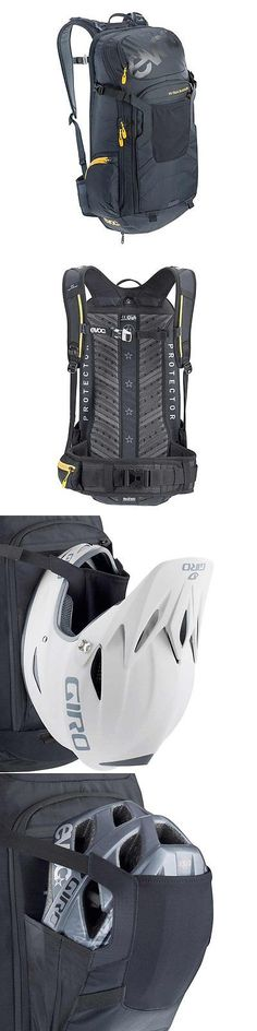Bags and Panniers 177833: Evoc, Fr Trail Blackline Protector, 20L, Backpack, Black, Xl -> BUY IT NOW ONLY: $109.43 on eBay!