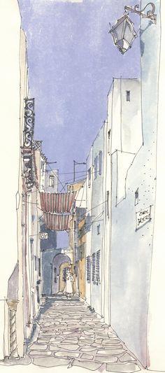 https://flic.kr/p/rd2bEn | Hammamet 1, TUN | in der Medina, 2004