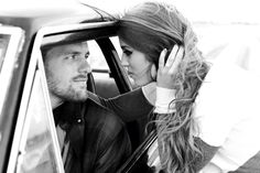 Drag racing engagement photo by Hannah Arnzen Photography