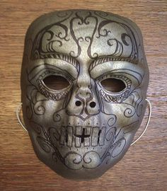 Death eater mask tutorial