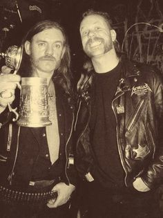 Lemmy Kilmister - James Hetfield