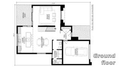 Modern House Design 40x49 with 3 bedrooms - Sam Phoas Home