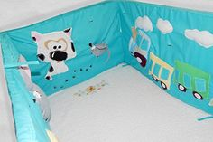 Handmade Nursery Handmade Crib Bumpers Bedsheet Animal Toy Linen Fleece Baby Decor ** See this great product.
