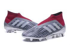 Botas de Futbol Nuevo Adidas Predator 18+ FG - Pogba Gris