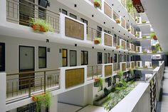 single loaded corridor apartment - Google Search