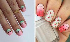 Cute Watermelon Nails